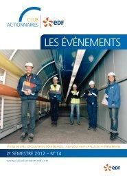 LES ÉVÉNEMENTS - Finance - EDF