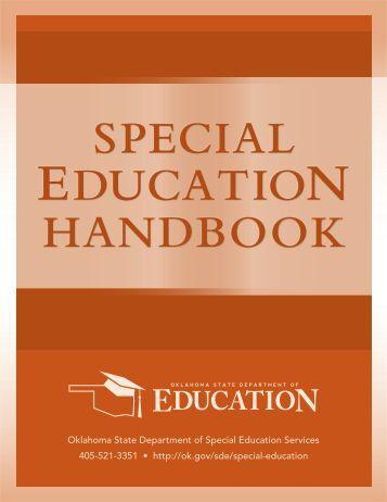 Special Education Handbook - Cooperative Council for Oklahoma ...