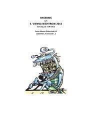 Results 2013 - vienna nightrow