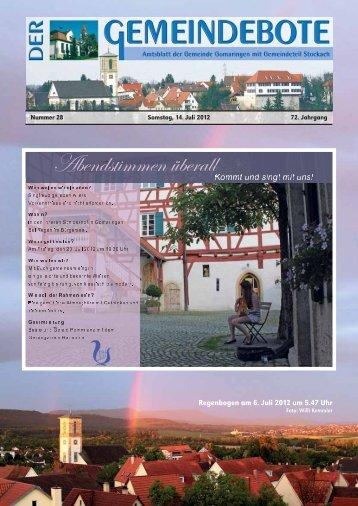 Ausgabe :Gomaringen 14.07.12.pdf - Gomaringer Verlag