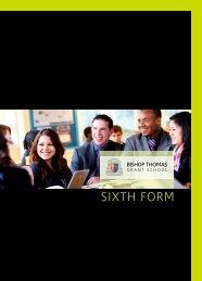 SIXTH FORM - Bishop Thomas Grant School