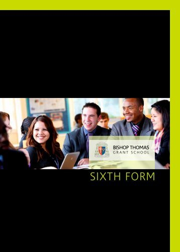 SIXTH FORM - Bishop Thomas Grant School