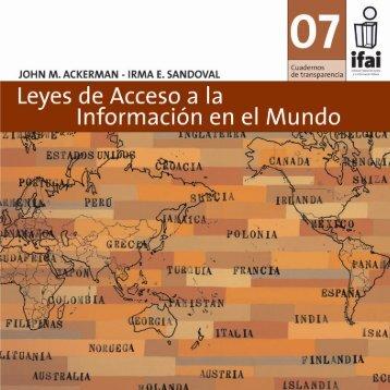 Leyes de acceso a la información en el mundo - Comisión ...