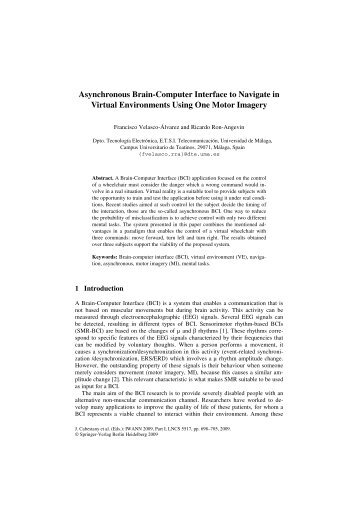 Asynchronous Brain-Computer Interface to Navigate in Virtual ...