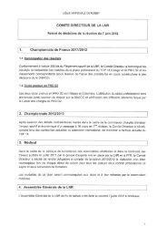 1. Championnats de France 2011/2012 - Ligue Nationale de Rugby