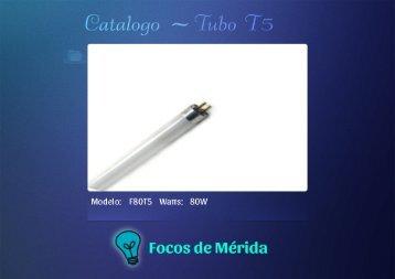 catalogo tubo t5