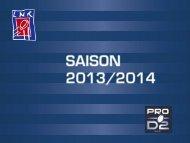 Reprise de la PRO D2 2013-2014 - Ligue Nationale de Rugby