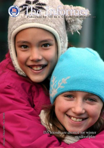ISS friends are dressed for winter outdoor play. - the International ...