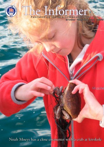 Noah Moeys has a close encounter with a crab at leirskole - the ...