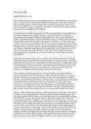PDF Transcription Shaykh Ibrahim Osi Efa - Radical Middle Way