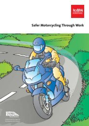 Safer Motorcycling Through Work - Network - Motorcycle Action Group