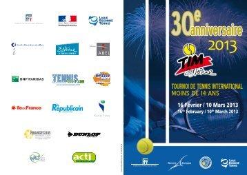 Présentation TIM 2013 - Tournoi.fft.fr