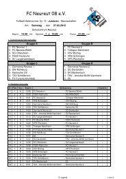 Spielplan (PDF) - Karlsruher SV