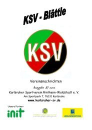 Sommer 2012 - Karlsruher SV