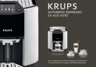automatic espresso ea 9000 serie - KRUPS Premium Sortiments ...