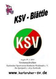 ksv-weihnachten 2011 - Karlsruher SV