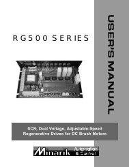 RG500 SERIES - Alstron