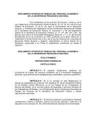 reglamento interior de trabajo del personal academico - Portal de ...
