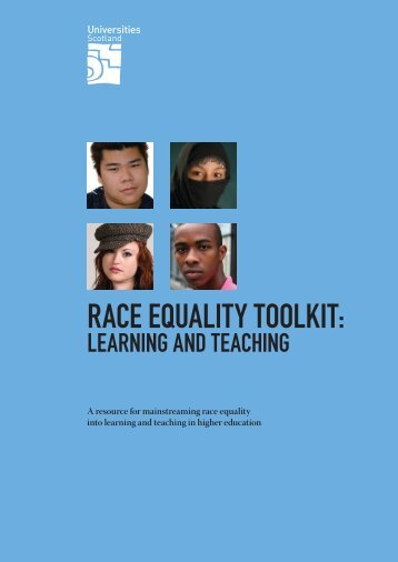 Race Equality Toolkit 2006.pdf - Universities Scotland