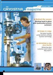 The Cryostar Magazine N°4 : pdf file