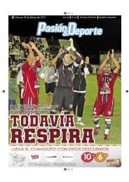diario 167.indd - Pasión & Deporte