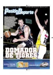 diario 87.indd - Pasión & Deporte