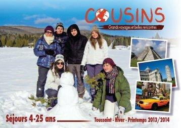 Edito, Sommaire et Nos engagements - Cousins