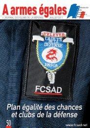 Plan égalité des chances et clubs de la défense - La fédération des ...