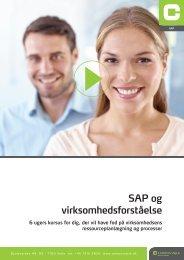 Hent pdf med beskrivelse af SAP 6 ugers kurset - Campus Vejle