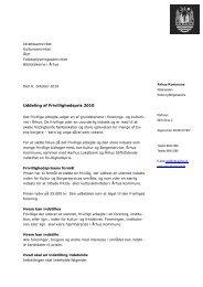 Beskrivelse og vejledning til indstilling (.pdf) - Idrætssamvirket Århus
