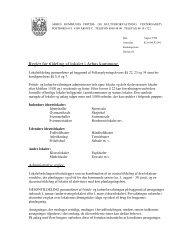 Regler for tildeling af lokaler i Arhus kommune.