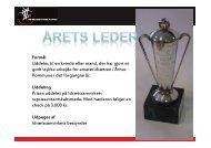 nominerede kandidater - Idrætssamvirket Århus
