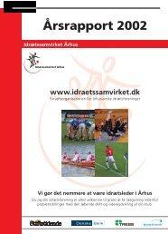 2002 Årsrapport(.pdf) - Idrætssamvirket Århus