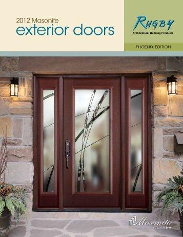 Exterior Doors Catalog Masonite 2017 Rugby