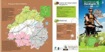 Été actif - Sports CG24 - Conseil général de la Dordogne