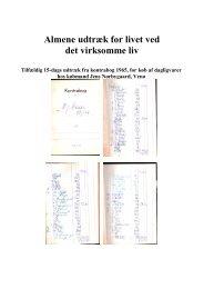 Almene udtræk for livet ved det virksomme liv - underregnbuen.dk