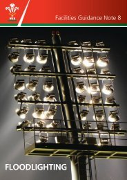 FLOODLIGHTING - Welsh Rugby Union