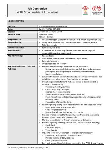 Restaurant Job Description Templates Restaurant Resource Group