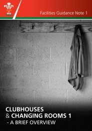 CLUBHOUSES & CHANGING ROOMS 1