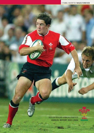 WELSH RUGBY UNION LIMITED ANNUAL REPORT 2003-2004