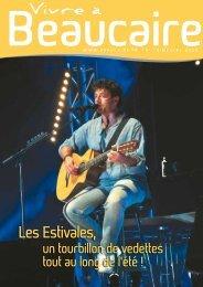 dossier spécial fêtes - Beaucaire