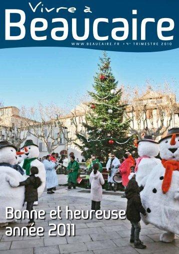 bonne et heureuse année 2011 - Beaucaire