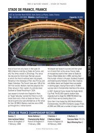 STADE DE FRANCE, FRANCE - Rugby Unplugged