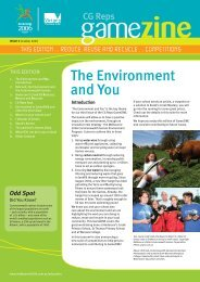 View the Third Edition of GameZINE - Education Program