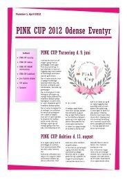 Pink cup Nyhedsbrev april 2012 - AIDOH