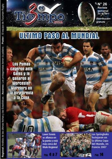 TT Revista 2011 N26 A5 EN PDF 2 - Tercer Tiempo NOA