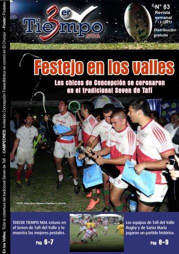 REVISTA Nro 83 DE TTNoa PD - Tercer Tiempo NOA