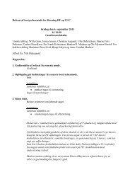Referat fra mødet den 6. september 2011 - Herning HF & VUC