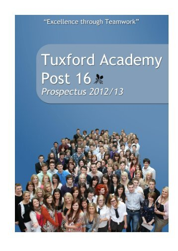 Tuxford Academy Post 16 - Diverse Academies Learning Partnership