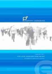 Appendix One : Retail/Economic Assessment, Property Economics Ltd